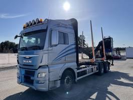 Holztransporter MAN TGX 26 6x4, Euro 6, Timber-truck, 2015 2015