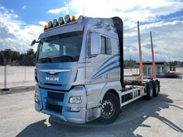 Holztransporter MAN TGX 26 6x4, Euro 6, Retarder, Timber-truck, 2015 2015
