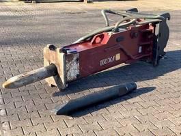 crusher and hammer attachment Hydraram FX-200 | 1600KG | 16 ~ 25 Ton | Hammer Sloophamer 2020