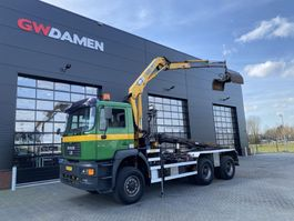 container truck MAN 33.414 6x6 2001