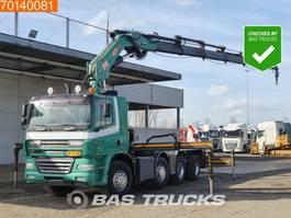 container truck Ginaf X 4243 8X4 NL-Truck WS Crane Kran PM 47 T/M Intarder 2006