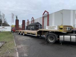 semi lowloader semi trailer Kässbohrer Ayhan Ünsal 3 as semi low boy dieplader trailer 57 ton UNS3 2021