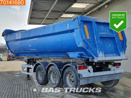 tipper semi trailer MOL 29m3 Alu Kipper BPW Liftaxle 2008