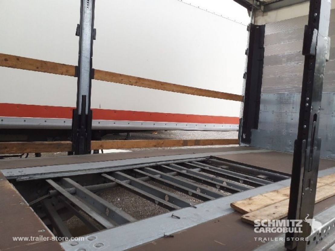 Schiebeplanenauflieger Schmitz Cargobull Semitrailer Rideaux Coulissant Standard 2017