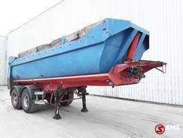 flatbed semi trailer Kaiser Oplegger 2002