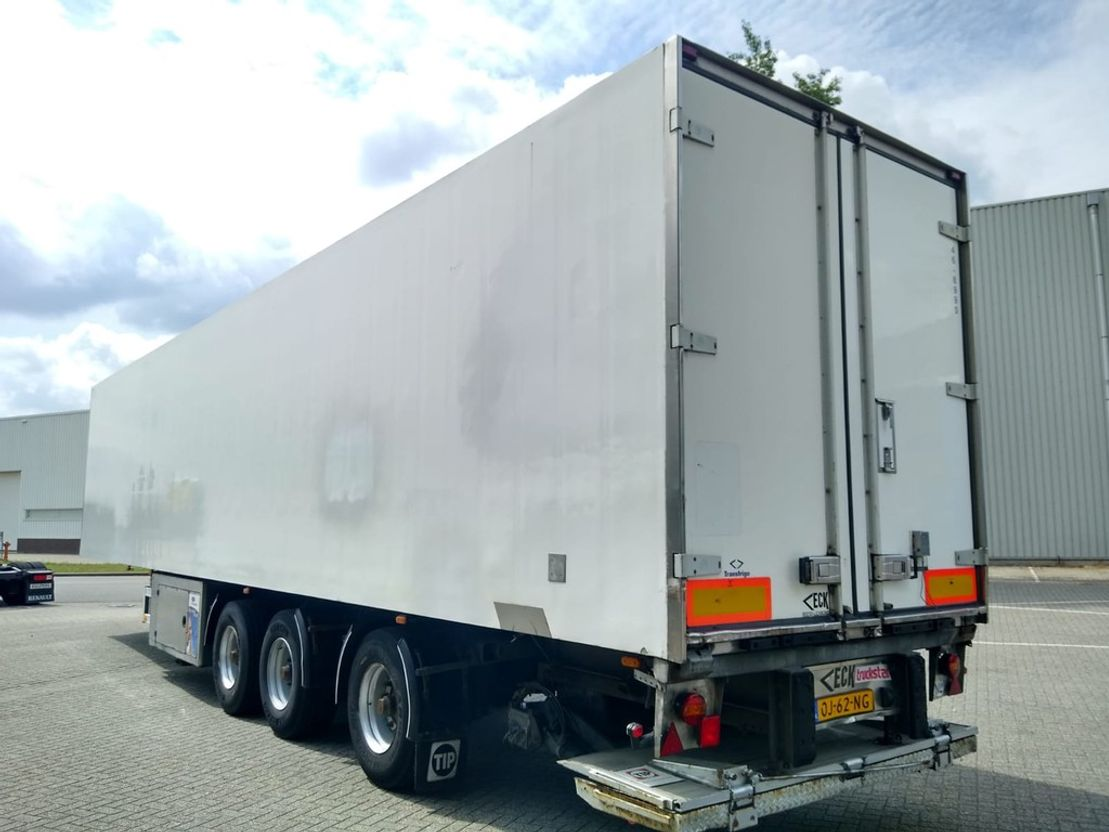 Kühlauflieger Van Eck UT-3BI 3-As Koeloplegger / Stuuras / Laadlift / Vector 1800 2006