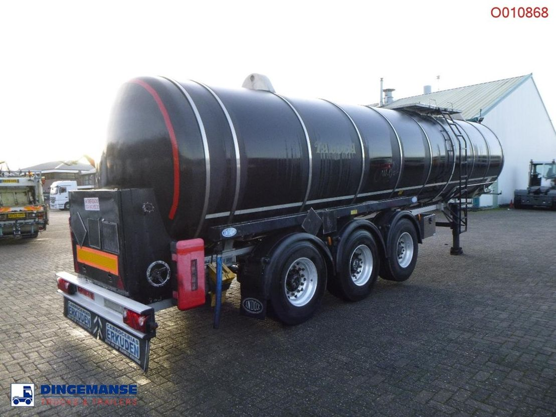 Tankauflieger Auflieger Indox Bitumen tank inox 29 m3 / 1 comp 2004