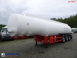 tank semi trailer semi trailer Cobo Fuel tank alu 42.9 m3 / 6 comp + counter 2007