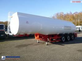 tank semi trailer semi trailer Cobo Fuel tank alu 38.4 m3 / 6 comp 2020