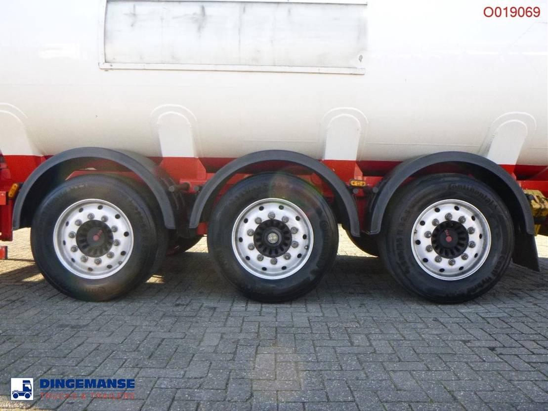 Tankauflieger Auflieger Cobo Fuel tank alu 38.4 m3 / 6 comp 2020