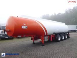 tank semi trailer semi trailer Cobo Fuel tank alu 40.4 m3 / 6 comp 2003