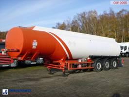 tank semi trailer semi trailer Cobo Fuel tank alu 42.6 m3 / 6comp 2020