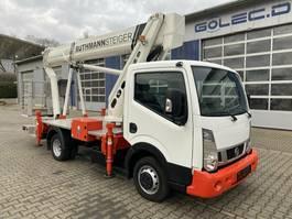 mounted boom lift truck Nissan Cabstar 4x2 E6 Hubarbeitsbuehne Ruthmann 25M! 2019