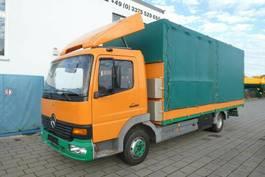 loading ramp - car transporter lcv Mercedes-Benz 817 L + Rampen 1999