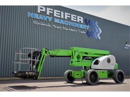 articulated boom lift wheeled Niftylift HR21 HYBRID 4X4 Valid inspection, *Guarantee! Bi E 2014