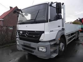 drop side truck Mercedes-Benz Axor 1829LL Open laadbak met kooiaapaansluiting 2009