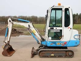 mini digger crawler Ammann -Yanmar B15-3EX Dutch machine / good condition 2004
