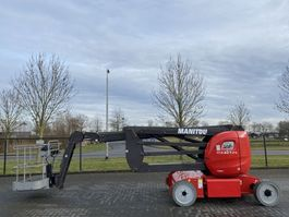 articulated boom lift wheeled Manitou 170 AETJ L / ELECTRIC 17 M / ONLY 492 HR 2016