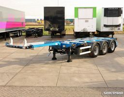 Container-Fahrgestell Auflieger D-Tec FT-43-03V | 20-30-40-45ft HC MULTICHASSIS STEERING AXLE 2007