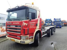 container truck Scania R 124 GB 8X2/4 NA 420 2000