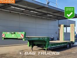 lowloader semi trailer Gheysen en Verpoort S2VB 2 axles Steelsuspension Lenkachse 2017