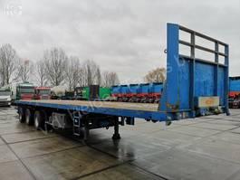 flatbed semi trailer Nooteboom OVB 48 VV | 3x Steering axle | Payload 36 580kg 1996