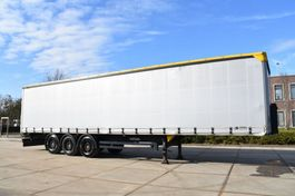 sliding curtain semi trailer Kögel SN 24 - SAF AXLES - DISC BRAKES - SLIDING ROOF - GOOD CONDITION - 2010