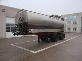 sliding curtain semi trailer Kel-Berg Fodertank 2007