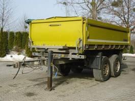 tipper trailer Schmitz Cargobull ZKI 18 - Tandemanhänger 2 Achse 2013