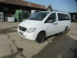 minivan - passenger coach car Mercedes-Benz Vito 115 CDI, 5 Sitzer Bus, Sommer-+Winterreifen 2010