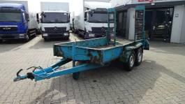 other car trailers Obermaier OP2-T27S Tiefladeranhänger mit Rampen 2004