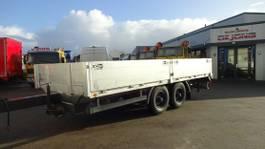 drop side full trailer Krone AZP-9 Anhänger 1991