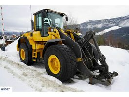 wheel loader Volvo L110G w / lever steering & 3rd function 2012