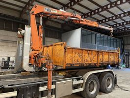 other containers Marrel Hydrauliek CONTAINER + CRANE HIAB 775 - KRAN / GRUE / GRUA / KRAAN 1991