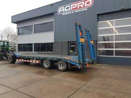lowloader trailer Kögel 3 as bladgeveerd
