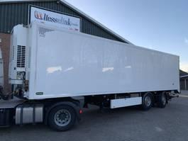 refrigerated semi trailer DRACO HEIWO 10.7m City 2x Laadklep, Stuuras, Frigoblock D+E, TOP 2015