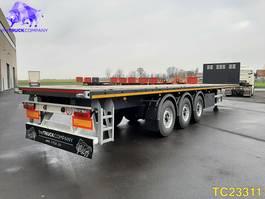 flatbed semi trailer KAESSBOHRER SPB Flatbed