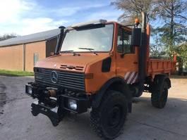 drop side truck Unimog u1450l LA 1999