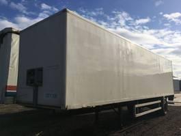 closed box semi trailer Fruehauf 0NCRS 22-110 A 2004