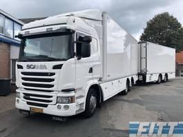 refrigerated truck Scania G410 6x2 G410 Euro6 6x2 - koel/vries combi, Chereau, 3x laadklep, doorlader 2014