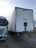 closed box semi trailer Fruehauf Fruehauf gesloten koffer 1999