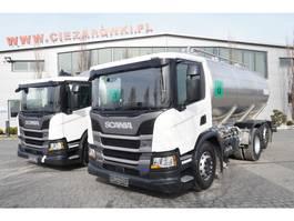 tank truck Scania P410 , E6 , 6X2 , 20.000km ! ! ! , 2 units , steer/lift axle , 1 2019