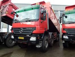 tipper truck > 7.5 t Mercedes-Benz ACTROS 4144 AK - 8x8 - 2 ASFALTKIPPERS - TELLIGENT 3 PEDALS 2008