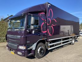 closed box truck DAF CF65.220 FA  Automaat 2009
