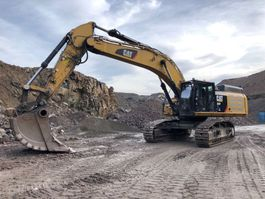 wheeled excavator Caterpillar 352 FXE 2018