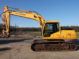 crawler excavator Hyundai R180LC-3 Dutch machine 2004