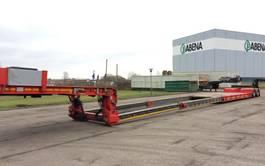 semi lowloader semi trailer Faymonville Megamax lowbed  18.000 mm lowbed 2018