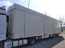 closed box semi trailer Lecitrailer 3E19MD DOUBLE ETAGE/DOPPELSTOCK/TWO FLOOR 2005