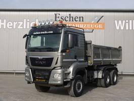 tipper truck > 7.5 t MAN TGS 26 6x6 3 Seitenkipper 2015
