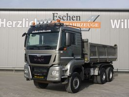 tipper truck > 7.5 t MAN TGS 26.480 6x6 3 Seitenkipper 2015